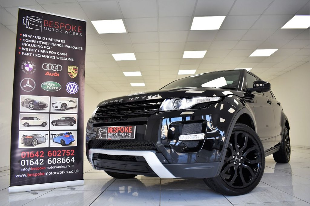 USED 2014 14 LAND ROVER RANGE ROVER EVOQUE 2.2 SD4 DYNAMIC LUX