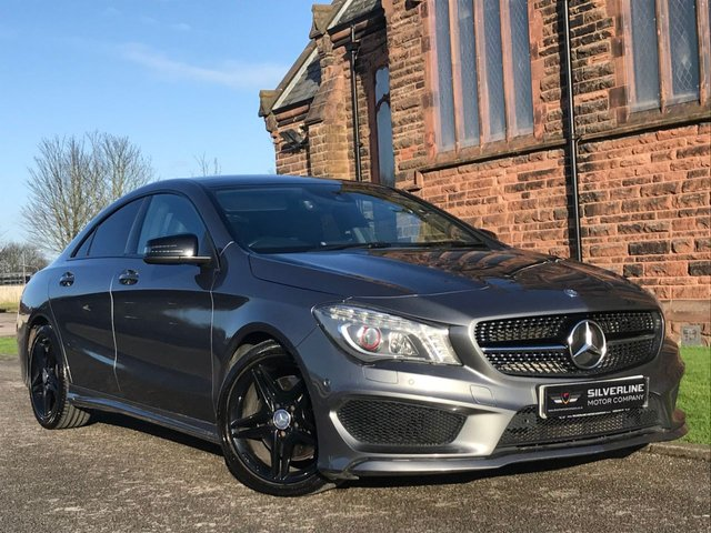 2014 14 MERCEDES-BENZ CLA 2.1 CLA220 CDI AMG SPORT 4d 170 BHP [NIGHT EDITION]