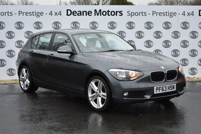 2014 63 BMW 1 SERIES 1.6 116D EFFICIENTDYNAMICS 5d 114 BHP