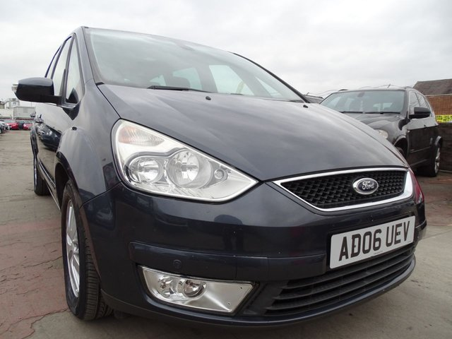 USED 2006 06 FORD GALAXY 2.0 GHIA TDCI 5d DRIVES WELL GOOD SPEC