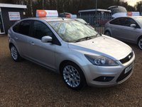 USED 2011 11 FORD FOCUS 1.6 ZETEC 5d 100 BHP FULL MAIN DEALER SERVICE HISTORY - FINANCE AVAILABLE