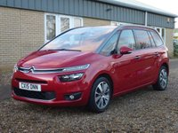 USED 2015 15 CITROEN C4 GRAND PICASSO 1.6 E-HDI EXCLUSIVE PLUS ETG6 5d 113 BHP www.suffolkcarcentre.co.uk - Located at Reydon