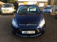 USED 2012 12 FORD C-MAX 1.6 ZETEC 5d 104 BHP FULLY AA INSPECTED - FINANCE AVAILABLE