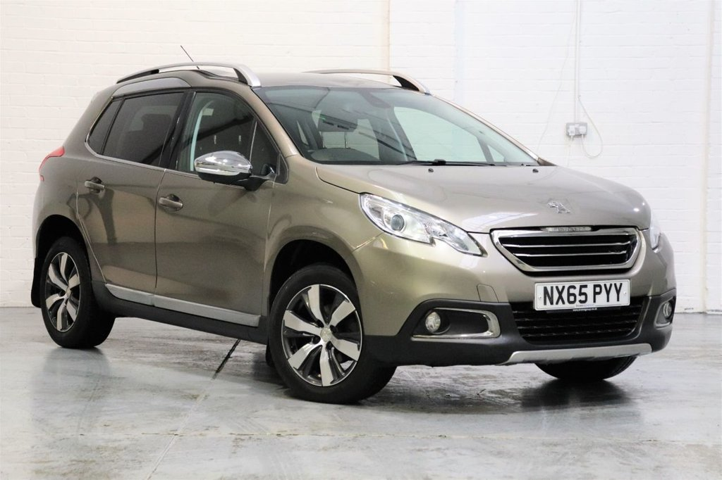 USED 2015 65 PEUGEOT 2008 1.6 BLUE HDI S/S ALLURE 5d 100 BHP Parking Aid +Cruise +Dab + Fsh
