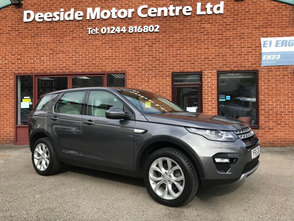 "USED 2015 65 LAND ROVER DISCOVERY SPORT 2.0 TD4 HSE 5DOOR 180 BHP Family 7-Seater   :   DAB   :   Sat Nav   :   USB & AUX   :   Cruise Control / Speed Limiter      Bluetooth Connectivity   :   Climate Control / Air Conditioning   :   Panoramic Glass Roof      Heated & Electric Front Seats   :   Full Beige Leather Upholstery   :   Rear View Camera       Automatic Tailgate    :   Front & Rear Parking Sensors   :   19"" Alloy Wheels   :   2 Keys       Full Land Rover Service History"