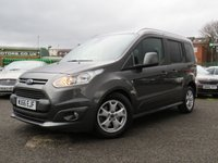2016 FORD TOURNEO CONNECT 1.5 TITANIUM TDCI 5d 118 BHP £12111.00