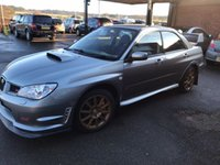 USED 2007 56 SUBARU IMPREZA 2.5 WRX STI TYPE UK 4d 276 BHP ONLY 54K MILES, STANDARD UNABUSED IMMACULATE EXAMPLE
