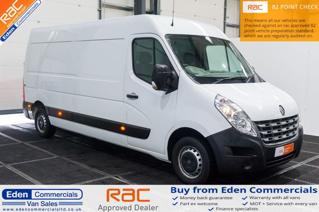 USED 2014 14 RENAULT MASTER 2.3 LM35 ENERGY DCI S/R 125 BHP