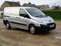 USED 2010 60 PEUGEOT EXPERT 2.0 PROFESSIONAL HDI SWB  118 BHP full service in cambelt water pump clutch and duel mass