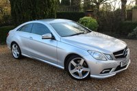 USED 2010 10 MERCEDES-BENZ E CLASS 3.0 E350 CDI BLUEEFFICIENCY SPORT 2d 231 BHP MERCEDES SERVICED 1 FORMER KEEPER - IMMACULATE