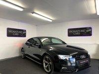 2013 AUDI A5 2.0 TDI BLACK EDITION 2d 177 BHP £10500.00