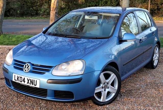2004 04 VOLKSWAGEN GOLF 1.6 SE 5d 114 BHP AUTOMATIC/ LONG MOT/ NEW SERVICE/ NEW TIMING CHAIN KIT