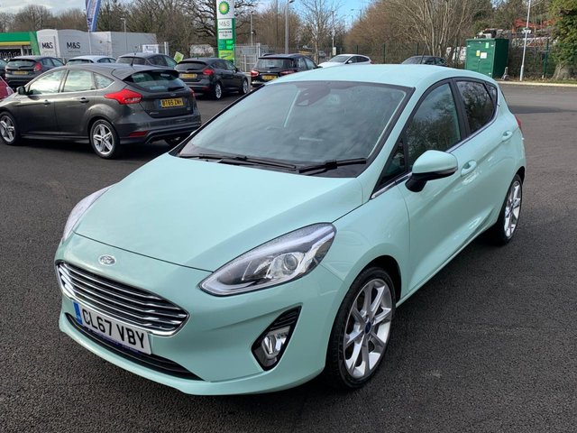 2017 67 FORD FIESTA 1.0 TITANIUM B AND O PLAY NAVIGATOR ECOBOOST (100PS)