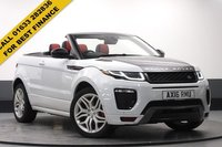 USED 2016 16 LAND ROVER RANGE ROVER EVOQUE 2.0 TD4 HSE DYNAMIC 3d 177 BHP STUNNING WHITE PAINT WORK 20 INCH ALLOYS, WINDSOR EBONY/PIMENTO LEATHER INTERIOR, SAT NAV, LANE ASSIST, DAB, BLUETOOTH, AC, PARKING SENSORS, MEMORY HEATED SEATS, ONE OWNER, SERVICE HISTORY, BIG SPEC