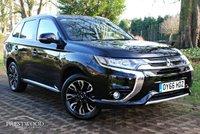USED 2016 66 MITSUBISHI OUTLANDER 2.0 PHEV GX 4H AUTO [200 BHP] 4WD 5 DOOR SUV