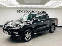 USED 2018 67 TOYOTA HI-LUX 2.4 INVINCIBLE 4WD D-4D DCB 4d 147 BHP plus vat Camera! Heated leather!
