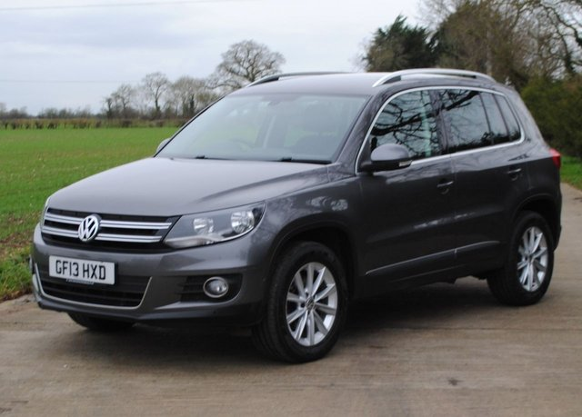 2013 13 VOLKSWAGEN TIGUAN 2.0 SE TDI BLUEMOTION TECHNOLOGY 4MOTION DSG 5d 138 BHP