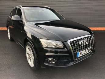 2012 AUDI Q5 2.0TDI QUATTRO S LINE PLUS (170 PS) £11950.00