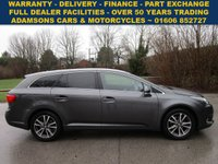 USED 2012 62 TOYOTA AVENSIS 1.8 TR VALVEMATIC  5d 147 BHP Full Service History, Nice Car, Drives Superb, Sat Navigation