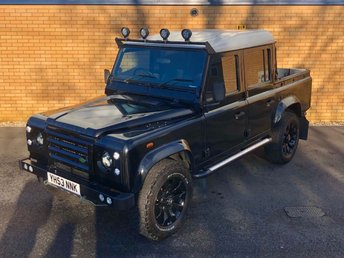 2003 LAND ROVER DEFENDER 110 // TD5 2.5L // COUNTY DOUBLE CAB // PICKUP // LWB // 4d // 120 BHP // Px swap £18990.00
