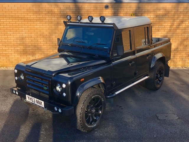 2003 LAND ROVER DEFENDER 110 // TD5 2.5L // COUNTY DOUBLE CAB // PICKUP // LWB // 4d // 120 BHP // Px swap