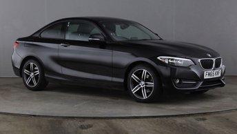 2015 BMW 2 SERIES 2.0 218D SPORT 2d 148 BHP £11390.00