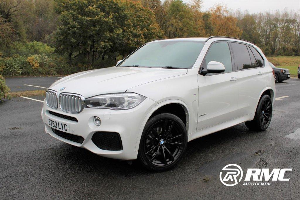USED 2013 63 BMW X5 3.0 30d M Sport Auto xDrive (s/s) 5dr 53k Rear camera  Satnav