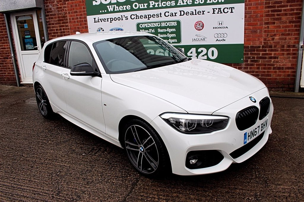 USED 2017 67 BMW 1 SERIES 1.5 118I M SPORT SHADOW EDITION 5d AUTO 134 BHP +ONE OWNER +SHADOW ED +SAT NAV