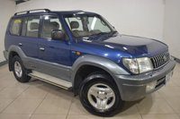 USED 2002 02 TOYOTA LAND CRUISER 3.0 VX 8-SEATS D4-D 5d 161 BHP