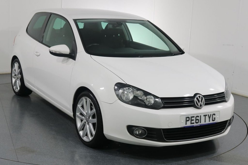 USED 2011 61 VOLKSWAGEN GOLF 2.0 GT TDI 3d 138 BHP 2 OWNERS with 6 Stamp SERVICE HISTORY