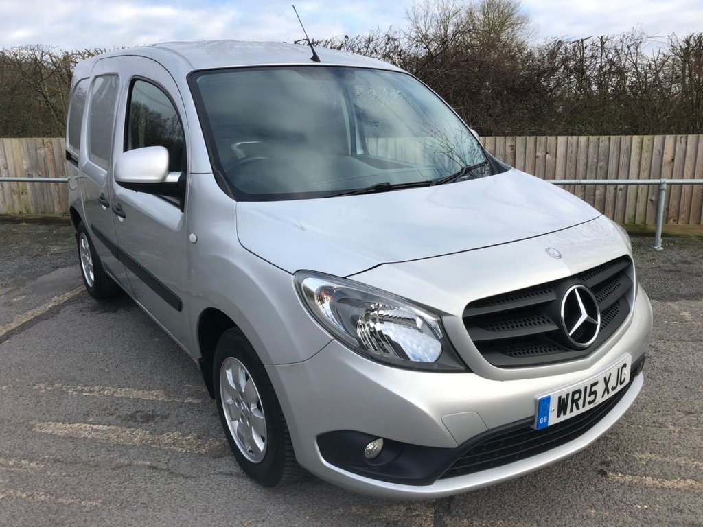 USED 2015 15 MERCEDES-BENZ CITAN 1.5CDI 109 SWB