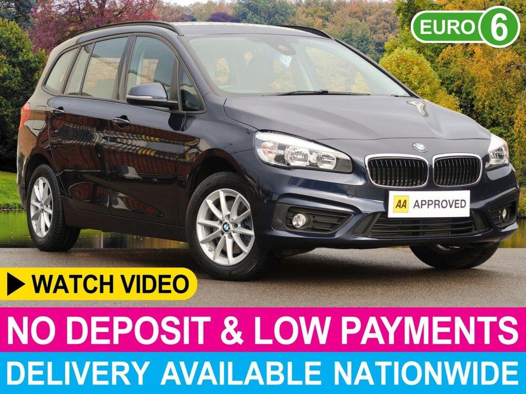 USED 2016 65 BMW 2 SERIES 218D SE AUTO 7 SEATS MPV 7 SEATS SAT NAV CRUISE CLIMATE