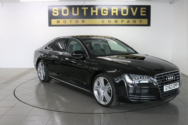 USED 2013 63 AUDI A8 3.0 TDI QUATTRO SPORT EXECUTIVE 4d 247 BHP