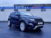 USED 2013 07 LAND ROVER RANGE ROVER EVOQUE 2.2 SD4 DYNAMIC 5d 190 BHP STUNNING HIGH SPEC DYNAMIC MODEL