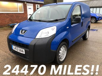 2013 PEUGEOT BIPPER 1.3 HDI S 75 BHP LOW MILEAGE! £4250.00