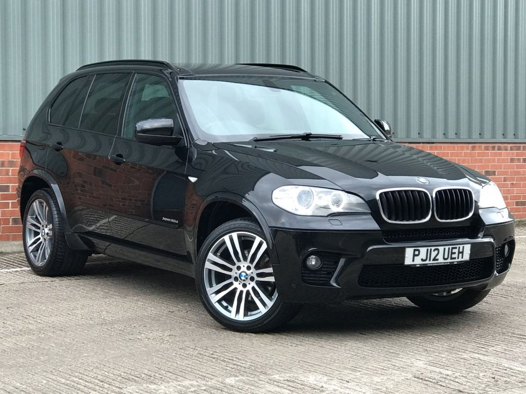 USED 2012 12 BMW X5 3.0 XDRIVE30D M SPORT 5d 241 BHP FANTASTIC EXAMPLE WITH HIGH SPECIFICATION