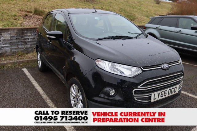 View our 2017 66 FORD ECOSPORT 1.0 ZETEC 5d 124 BHP