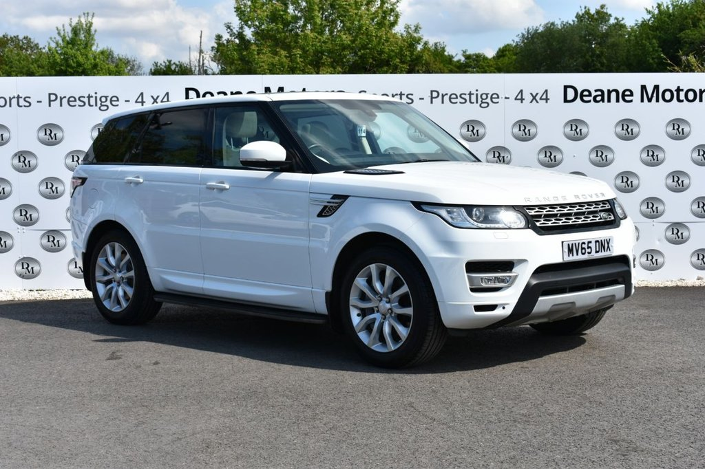USED 2015 65 LAND ROVER RANGE ROVER SPORT 3.0 SDV6 HSE 5d 306 BHP PANROOF