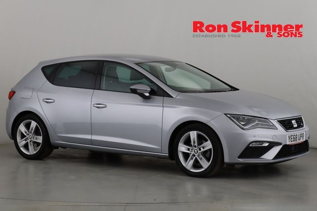 View our 2018 68 SEAT LEON 1.5 TSI EVO FR 5d 129 BHP