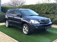 USED 2007 56 LEXUS RX 3.3 400H SE-L CVT 5d 208 BHP A VERY HIGH SPEC EXAMPLE IN FANTASTIC CONDITION WITH A FULL LEXUS SERVICE HISTORY TO NOVEMBER 2018 SAT NAV REVERSE CAMERA REAR ENTERTAINMENT PERFECT IVORY HEATED HEATED LEATHER POWER TAILGATE FRONT AND REAR PARKING SENSORS DETACHABLE TOWBAR  SUPERB DRIVER THAT LOOKS LIKE ITS COVERED HALF THE MILEAGE