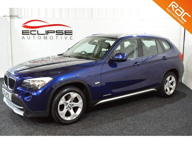 2010 60 BMW X1 2.0 XDRIVE20D SE 5d AUTO 174 BHP