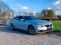 USED 2017 66 BMW 3 SERIES 2.0 320D LUXURY 4d 188 BHP BMW Individual Interior! FSH! Sat Nav, Parking Sensors, Bluetooth!
