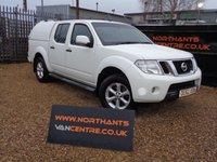 2012 NISSAN NAVARA 2.5 DCI ACENTA 4X4 DOUBLE CAB 190 BHP £6000.00