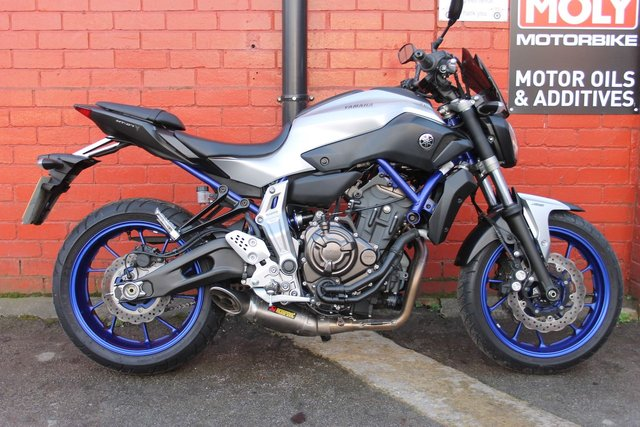 2015 15 YAMAHA MT-07 ABS