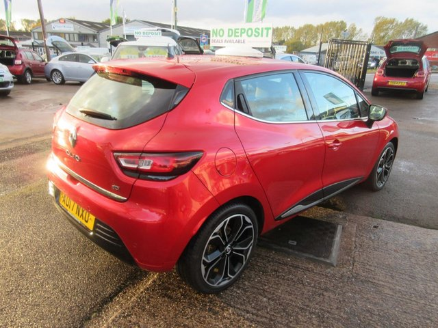 USED 2017 17 RENAULT CLIO 1.5 DYNAMIQUE S NAV DCI 5d 89 BHP CALL 01543 454566... 12 MONTHS MOT... 6 MONTHS WARRANTY... DIESEL... FREE  ROAD TAX... JUST ARRIVED..