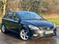 USED 2010 59 KIA CEED 1.6 3 CRDI 5d 113 BHP JUST BEEN SERVICED, MOT JAN 2021