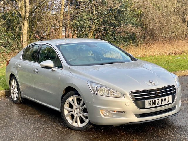USED 2012 12 PEUGEOT 508 2.0 ALLURE HDI FAP  4d 163 BHP 1/2 LEATHER INTERIOR, BLUETOOTH CONNECTION