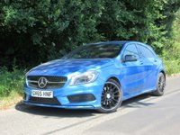 2015 MERCEDES-BENZ A-CLASS 2.1 A220 CDI AMG NIGHT EDITION 5d AUTO 168 BHP £15995.00