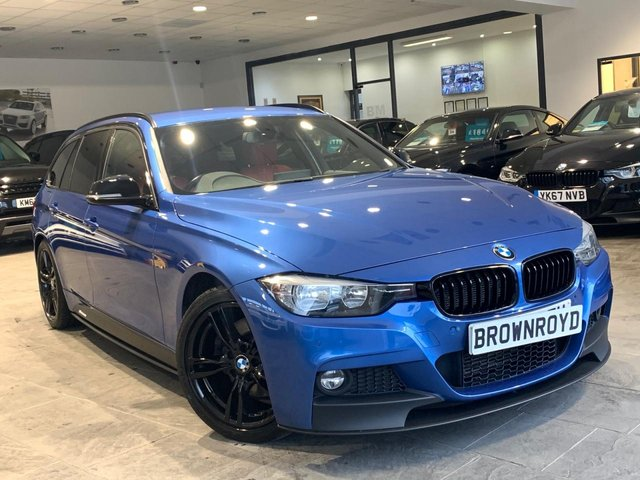 USED 2015 65 BMW 3 SERIES 3.0 330D M SPORT TOURING 5d 255 BHP ++M PERF KIT,SATNAV+FSH++