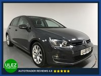 USED 2015 65 VOLKSWAGEN GOLF 1.6 GT TDI BLUEMOTION TECHNOLOGY DSG 5d AUTO 109 BHP FULL VW HISTORY - 1 OWNER - SAT NAV - PARKING SENSORS - AIR CON - BLUETOOTH - DAB RADIO - CRUISE - PRIVACY - AUX / USB